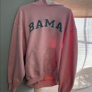 pink alabama hoodie
